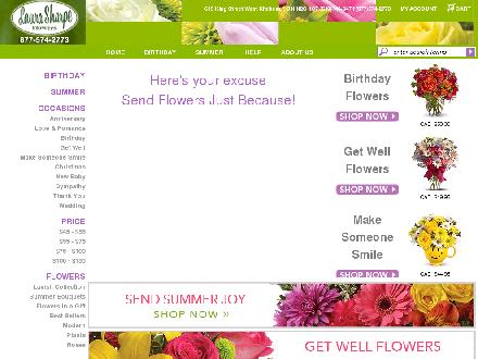Laura Sharpe Flowers (519-744-9471) - Website thumbnail - http://www.laurasharpeflowers.ca