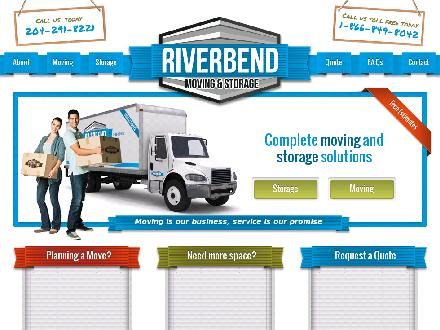 C J Storage (204-291-8221) - Website thumbnail - http://www.riverbendmovers.com