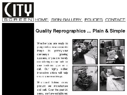 City Screen Productions Inc (403-302-6660) - Website thumbnail - http://www.cityscreen.ca