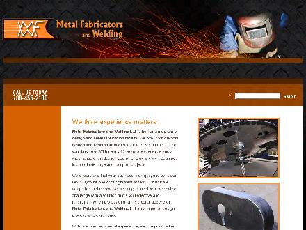 Metal Fabricators And Welding Ltd (780-455-2186) - Onglet de site Web - http://www.metalfab.ca
