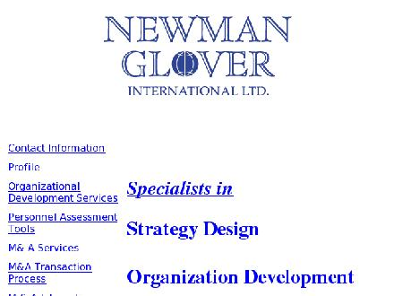 Newman Glover International (604-609-2828) - Onglet de site Web - http://www.newmanglover.com