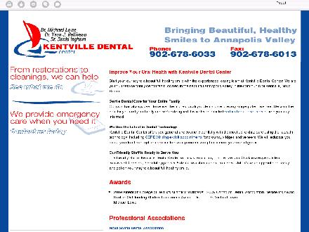 Kentville Dental Center Ltd (902-678-6033) - Onglet de site Web - http://kentvilledental.com/