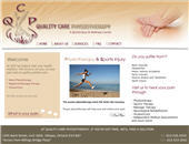 Quality Care Physiotherapy (613-526-3333) - Onglet de site Web - http://www.qcphysio.ca