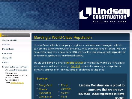 Lindsay J W Enterprises Limited (902-704-2970) - Website thumbnail - http://www.jwlindsay.ca