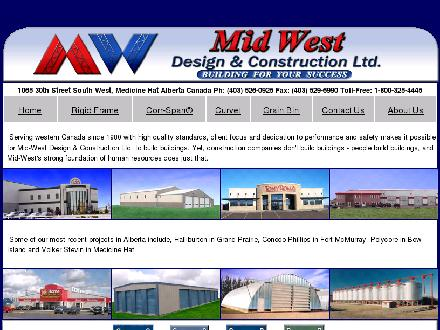 Mid-West Design & Construction Ltd (403-526-0925) - Onglet de site Web - http://www.mwdconstruction.com