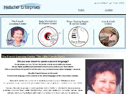 The French Learning Center (506-450-9577) - Website thumbnail - http://www.hielscherenterprises.com/frenchlearning.asp