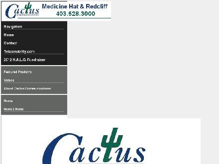 Cactus Communications - Medicine Hat (403-580-1756) - Onglet de site Web - http://www.cactuscommunications.com