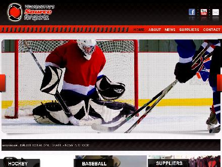 Valiquette's Source for Sports (613-725-5352) - Onglet de site Web - http://www.valiquettesports.com/