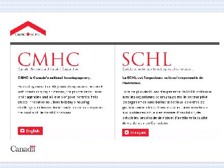 Canada Mortgage and Housing Corporation (CMHC) (1-888-772-0772) - Website thumbnail - http://www.cmhc.ca