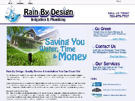 Rain By Design (780-401-9588) - Website thumbnail - http://rainbydesign.ca/