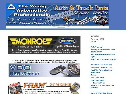 Young Automotive Professionals The (905-835-8120) - Website thumbnail - http://www.youngautoprofessionals.com