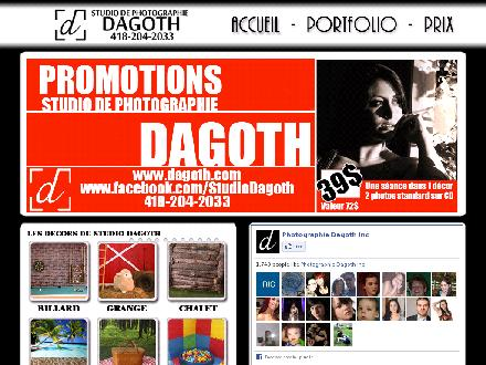 Photographie Dagoth Inc (418-204-2033) - Website thumbnail - http://www.dagoth.com