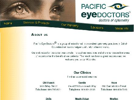 Newton Optometry Clinic (604-598-5991) - Website thumbnail - http://www.newtonoptometry.ca