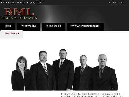 Bristow Moyse Lawyers (709-722-3777) - Onglet de site Web - http://www.bristowmoyse.com