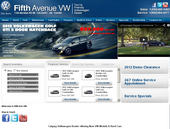 Fifth Avenue Auto Haus Ltd (403-273-2500) - Onglet de site Web - http://www.fifthavevw.com