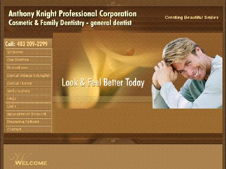 Knight Anthony Terence Professional Corp (403-209-2299) - Website thumbnail - http://www.tonyknight.ca