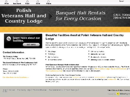 Polish Veterans Hall & Senior Citizens Home (780-475-9366) - Onglet de site Web - http://countrylodge.ca/