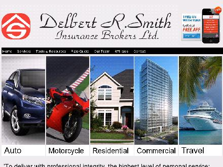 Delbert R Smith Insurance Brokers Ltd (613-800-5884) - Website thumbnail - http://www.delsmithinsurance.com