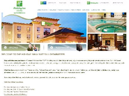 Holiday Inn Hotel & Suites (780-870-5050) - Website thumbnail - http://www.hilloydminster.com