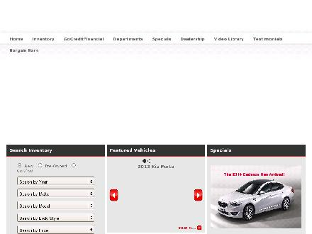 Kia West Edmonton (780-444-8645) - Website thumbnail - http://www.kiawestedmonton.com