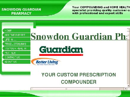 Snowdon Pharmacy (416-922-2156) - Website thumbnail - http://www.snowdonpharmacy.com/