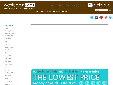 West Coast Kids (403-258-2332) - Website thumbnail - http://www.westcoastkids.ca