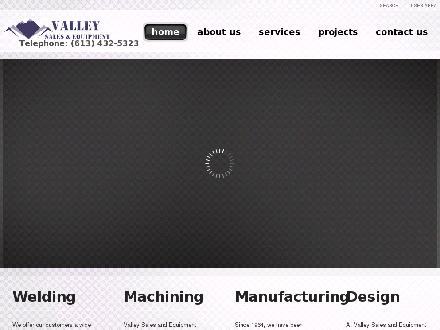 Valley Sales & Equipment (613-432-5323) - Onglet de site Web - http://www.ValleySalesandEquipment.com
