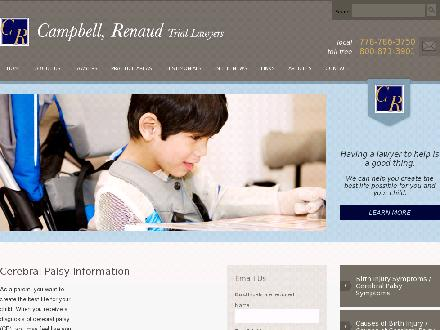 Campbell Renaud Trial Lawyers (604-435-6948) - Website thumbnail - http://www.campbellrenaud.com