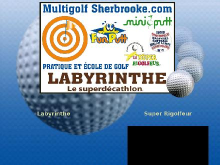Fun putt (819-829-1866) - Website thumbnail - http://www.multigolfsherbrooke.com