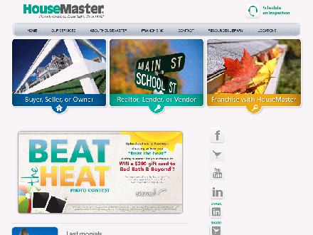 HouseMaster Home Inspection Service (780-449-3883) - Website thumbnail - http://www.housemaster.com/