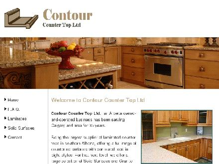 Contour Counter Top Supply Ltd (403-250-7272) - Onglet de site Web - http://www.contourcountertop.com