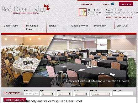 Red Deer Lodge (403-346-8841) - Onglet de site Web - http://www.reddeerlodge.ca