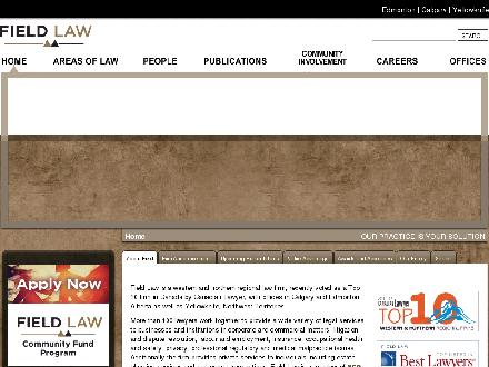 Field LLP (867-920-4542) - Website thumbnail - http://www.fieldlaw.com