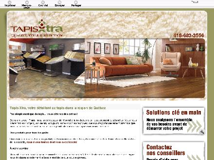 Tapis Xtra (418-683-3556) - Website thumbnail - http://tapisxtra.com/