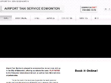 Airport Taxi Service (780-890-7070) - Website thumbnail - http://www.airporttaxiservice.ca
