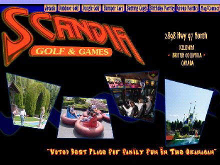 Scandia Golf & Games (250-765-2355) - Website thumbnail - http://www.scandiagolfandgames.com