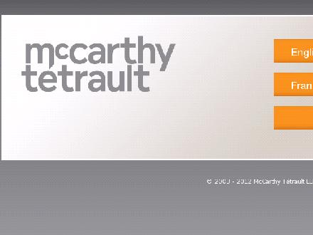 McCarthy T&eacute;trault S E N C R L srl (418-521-3000) - Onglet de site Web - http://www.mccarthy.ca/