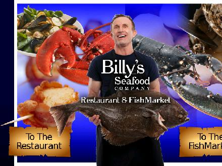 Billy's Seafood Company (506-672-3474) - Website thumbnail - http://www.billysseafood.com