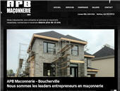 APB Ma&ccedil;onnerie Inc (438-323-0012) - Website thumbnail - http://www.apbmaconnerie.com