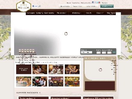 Manoir du Lac William Inc (1-800-428-9188) - Onglet de site Web - http://www.manoirdulac.com