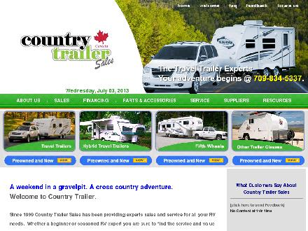 Country Trailer Sales (1999) Ltd (709-701-2353) - Website thumbnail - http://countrytrailer.ca