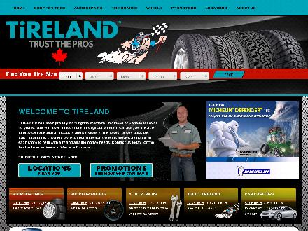 Tireland (780-988-8473) - Website thumbnail - http://www.tireland.ca