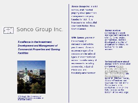 Sonco Group Inc (902-429-8200) - Onglet de site Web - http://www.sonco.ca