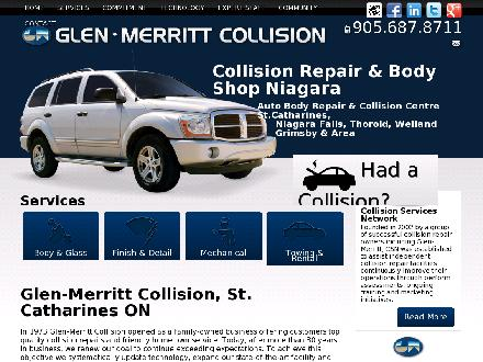 Glen-Merritt Collision Ltd (905-687-8711) - Website thumbnail - http://www.glenmerritt.com