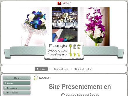 Fleuriste Pens&eacute;e Pr&eacute;sent (418-700-1717) - Onglet de site Web - http://www.penseepresent.com
