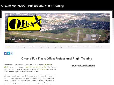 Ontario Fun Flyers Inc (613-547-5255) - Website thumbnail - http://www.offtraining.com