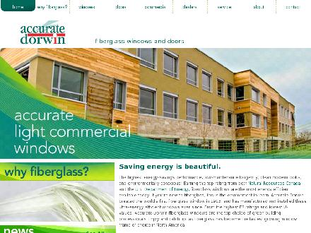 Accurate Dorwin (204-982-4640) - Website thumbnail - http://www.accuratedorwin.com
