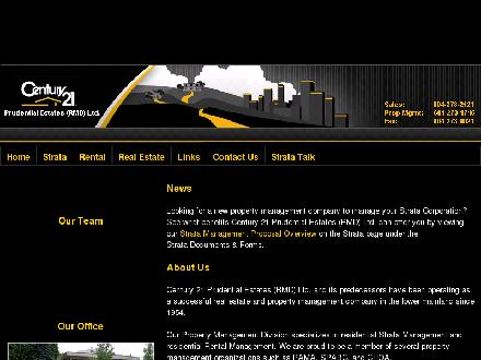 Century 21 Prudential Estates (Rmd) Ltd (604-273-1745) - Onglet de site Web - http://www.century21pel.com
