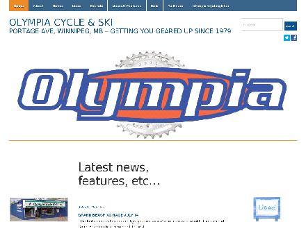 Olympia Cycle &amp; Ski (204-888-4586) - Website thumbnail - http://www.olympiacycle.com