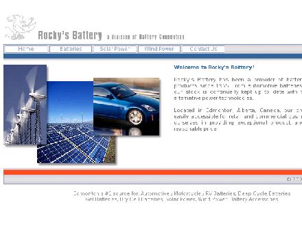 Rocky's Battery (780-401-9841) - Website thumbnail - http://www.rockysbattery.ca